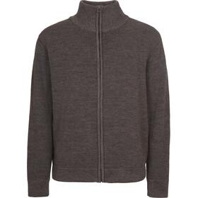 Elkline Seemannsgarn Veste en maille tricotée Homme, greymelange